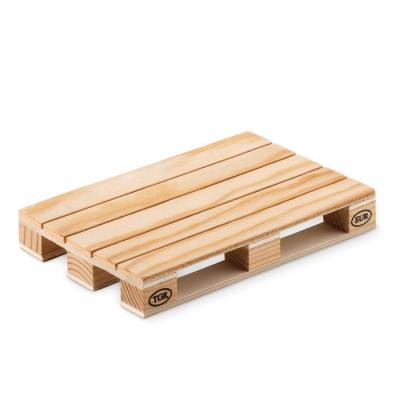 Image of Promotional Eco Pine Wood Pallet Coaster