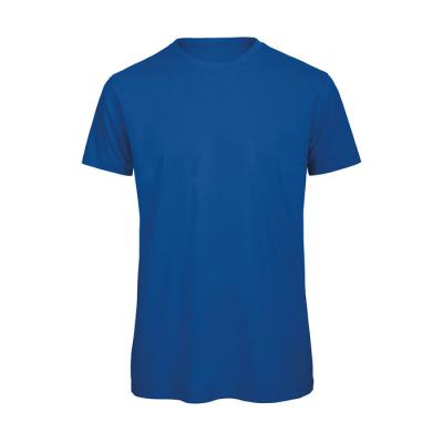 Image of Promotional Organic Men's Cotton T Shirt With Rib Collar