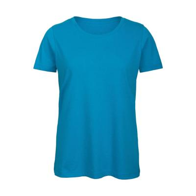 Image of Promotional Ladies Organic Cotton T Shirt With Rib Collar