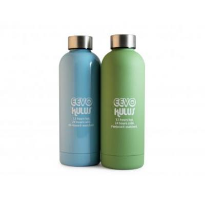 Image of Promotional Eevo Kulus Thermal Bottle With Antibacterial Coating