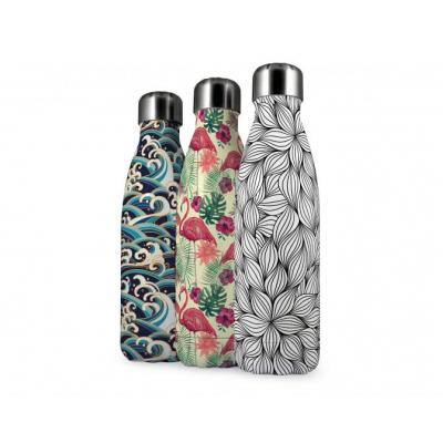 Image of Promotional Eevo Insulated Bottle With All Over Branding And Antibacterial Coating