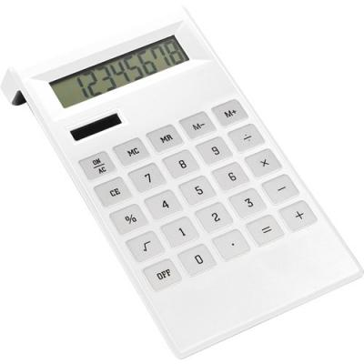 Image of Promotional Desk Calculator With Dual Solar And Battery Power