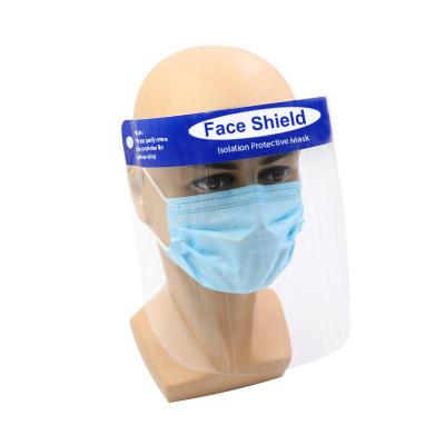 Image of PPE Full Face Shield Made From Protective PET With Branded Trim