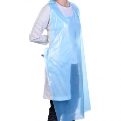 Image of PPE Blue Disposable Blue Protective Apron