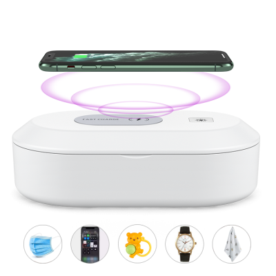 Image of PPE UV Sterilising Box With Wireless Charger