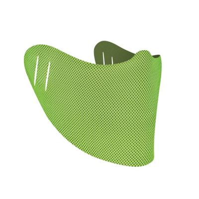 Image of Printed Face Mask Cover Lime Green Branded With Your Company Logo