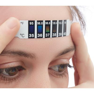 Image of Promotional PPE Forehead Thermometer Strip Low Cost Temperature Checker