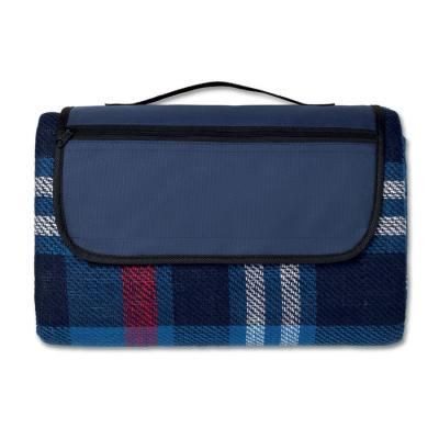 Image of Promotional Classic Picnic Blanket With Tartan Pattern