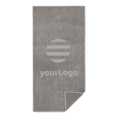 Image of Promotional Cotton Beach Towel Branded With Your Company Logo