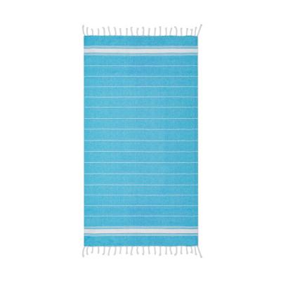 Image of Promotional Striped Cotton Beach Towel Blanket