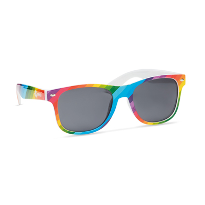 Image of Promotional Retro Sunglasses With Fully Customised Design Design