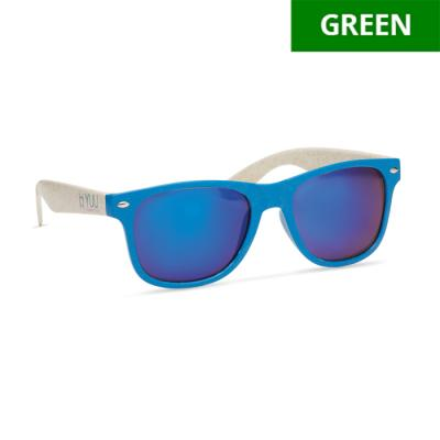 Image of Promotional Eco Wheat straw Sunglasses With Fully Bespoke Design