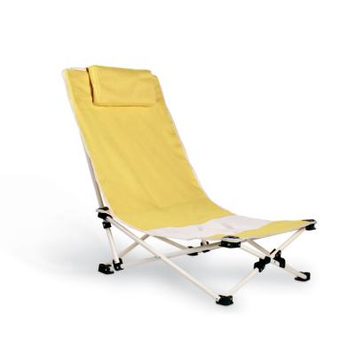 Image of Promotional Outdoor Beach Bar Chair With Neck Pillow