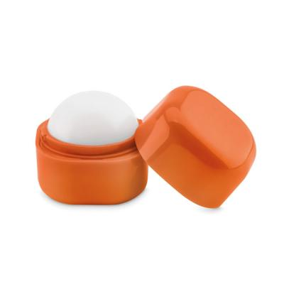 Image of Promotional Ball Lip Balm In Square Pot Dermatologically Tested