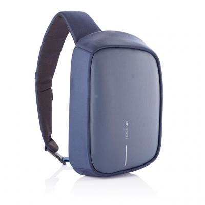 Image of Promotional Bobby Sling Anti Theft Backpack With USB Charging Port Navy Blue