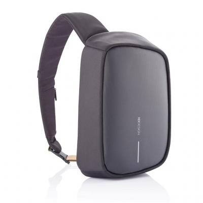 Image of Branded Bobby Sling Anti Theft Backpack With USB Charging Port Black