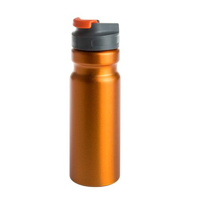 Image of Express Printed 700ml Aluminium Water Bottle. Reusable Metal Bottle Engraved Or Printed