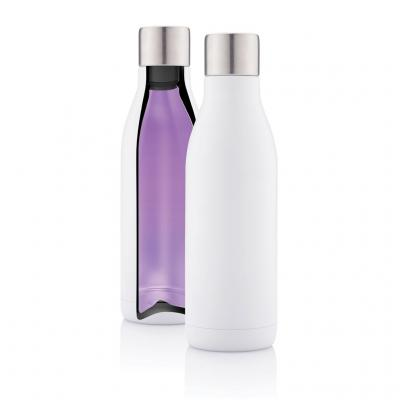 Image of Promotional UV-C steriliser Vacuum Stainless Steel Bottle With Rechargeable Battery