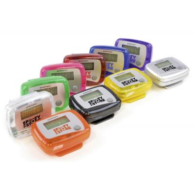Image of Printed Carmel Basic Pedometer. Available In Lots Of Bright Colours