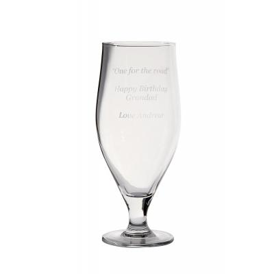 Image of Promotional Beer Glass 620ml Tulip Design
