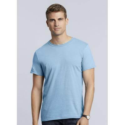 Image of Printed Men's T-Shirt-100% Cotton T-Shirt, Ring Spun Soft Style Pre Shrunk T Shirt (Gildan) Available In Other Colours At An Extra Cost