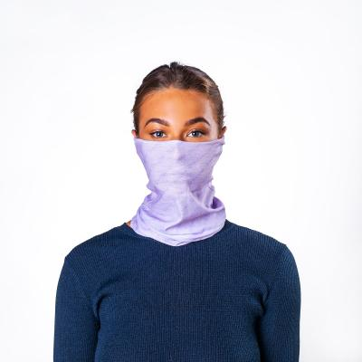 Image of Express Printed Bumpaa Snood Face Covering With Antiviral Technology Parma Pink