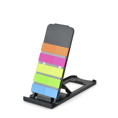 Image of Promotional Mobile Phone Stand With Sticky Notes Express Printed
