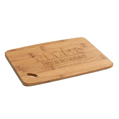 Image of Promotional Large Cheeseboard Made From Eco Bamboo Wood