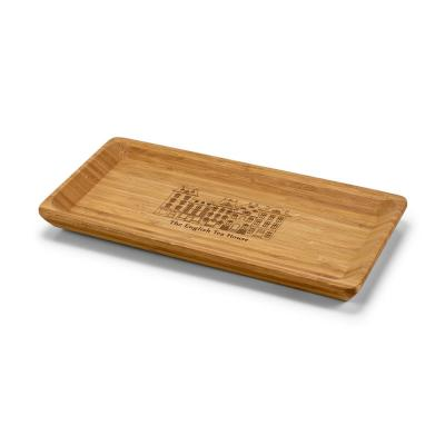 Image of Engraved Cheese Board Tray Made From Eco Bamboo