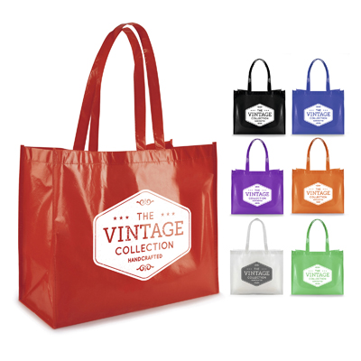 Image of Branded Reusable Laminated Shopping Bag