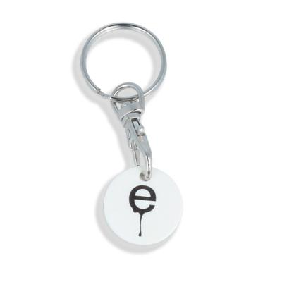 Image of Printed Trolley Coin Keyring. New 2017 Trolley Coin Now Available