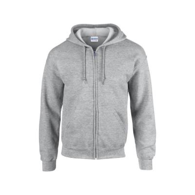 Image of Promotional Mens Full Zipped Hoodie Branded With Your Company Logo