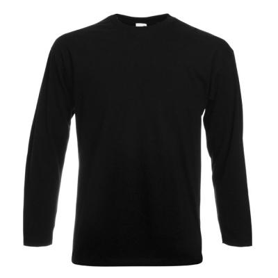 Image of Promotional Cotton T Shirt Unisex With Long Sleeves
