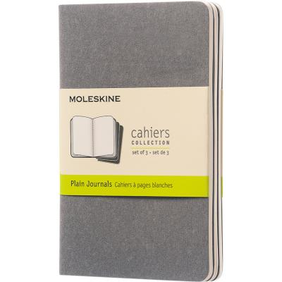 Image of Promotional Moleskine Cahier Journal Notebook Pocket A6 Plain Paper
