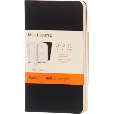 Image of Customised Moleskine Volant Journal Notebook XS Soft Cover Ruled Paper
