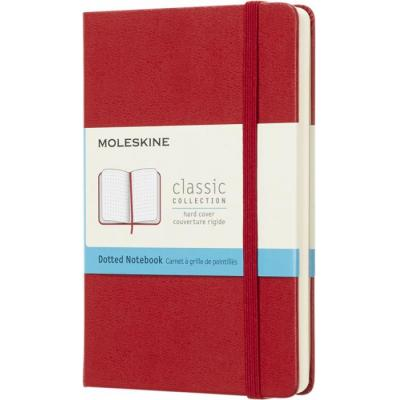 Image of Promotional Moleskine Classic Pocket Notebook With Hard Cover And Dotted Paper