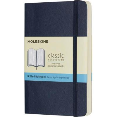 Image of Printed Moleskine Classic Notebook Pocket With Soft Cover And Dotted Paper