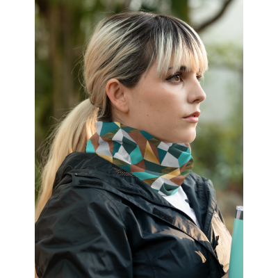 Image of Customised Snood Face Covering With Your Company Bespoke Design