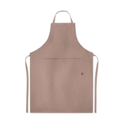 Image of Promotional Hemp Apron Adjustable With Front Pockets