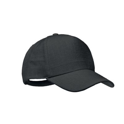 Image of Promotional Hemp Baseball Cap With Adjustable Strap