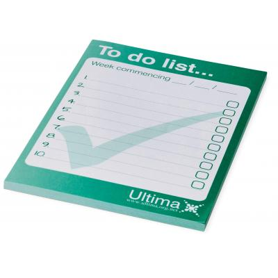Image of Desk-Mate® A6 notepad - 50 pages
